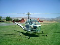 Hiller Helicopter used in  THE SHERIFF