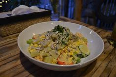 Vegan auf Gili Trawangan - koffergepackt Gili Trawangan, Vegan, Risotto, Potato Salad, Grains, Rice, Potatoes, Chicken, Ethnic Recipes
