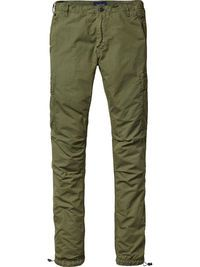 Broome - Pantalon cargo léger | Coupe slim relaxed