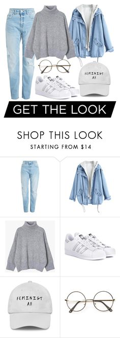 """Untitled #34"" by izabella-todor on Polyvore featuring adidas Originals"