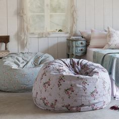 Oversized Canvas Bean Bag from Rachel Ashwell Shabby Chic Couture