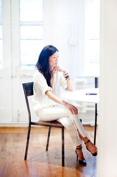 Marissa Webb in her Studio - A PIECE of TOAST // Lifestyle + Fashion Blog // Dallas