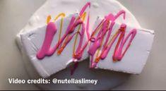 Diy Crafts Slime, Slime Craft, Fun Diy Crafts, Diy Slime, Art Crafts, Easy Fluffy Slime Recipe, Diy Fluffy Slime, Most Satisfying Video Ever, Satisfying Things