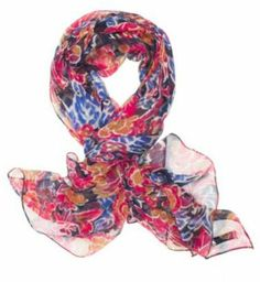 Lucky Brand Exploded Floral Scarf on shopstyle.com