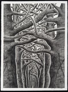 Limited edition prints by Stanley Donwood available to buy online with FREE UK SHIPPING. Stanley Donwood is renowned for his on-going graphic work with Radiohead and developed his maps after a visit to Los Angeles. Graphic Design Illustration, Graphic Art, Illustration Art, Stanley Donwood, Scratchboard, Wood Engraving, English Artists, Tree Art, Rock Art