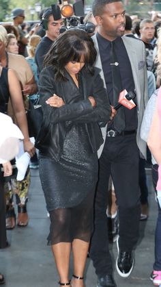 Kerry Washington out in NYC