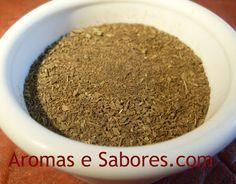 Aromas e Sabores: Orégano tostado