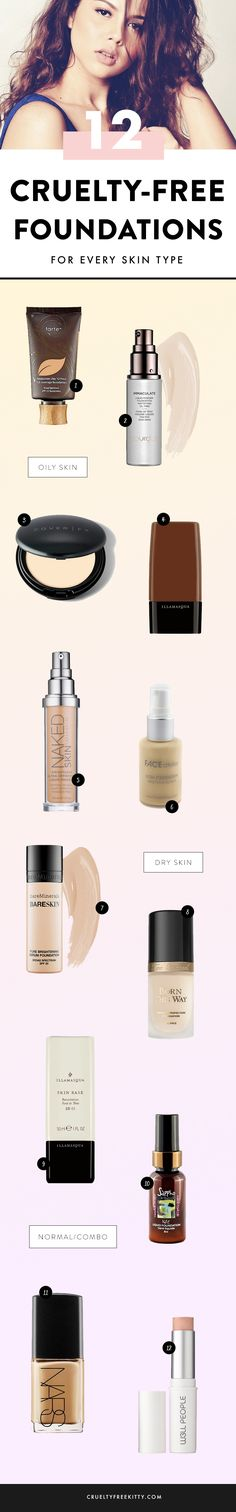 Foundations not tested on animals from crueltyfreekitty.com
