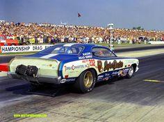Challenger Funny Car | ... Tom Sneden Bob Banning Dodge Challenger lineside 12x18 $39.95 BuyNow