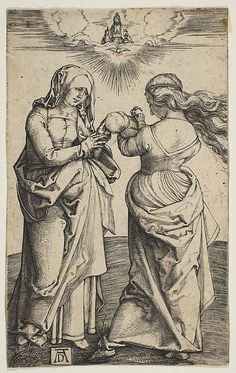 The Virgin with the Infant Christ and St. Anne by Albrecht Durer