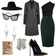 """""""DW Dramatic"""" by skugge on Polyvore"""