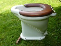 Unusual Antique French High Level Toilet – DragonQuarry Antiques & Restoration