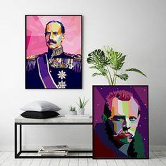 Visste du at det var Fridtjof Nansen som introduserte Kong Haakon VII for den norske folkesporten ski? Batman, Superhero, Poster, Fictional Characters, Design, Art, Craft Art, Kunst, Superheroes