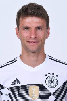 Thomas Mueller of Germany pose for a photo during the official FIFA World Cup 2018 portrait session on June 13 2018 in Moscow Russia Fifa World Cup 2018, World Cup Russia 2018, Lisa Müller, Thomas Muller, Dfb Team, Fc Bayern Munich, World Cup Winners, Sports Celebrities, National Football Teams