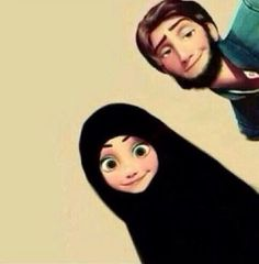 Muslim couple ❤️#couple#beard#hijabi