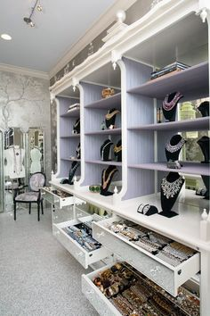 accessory closet - and I thought a catering kitchen was a bit much - geesh!