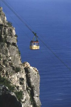 Old cable car. Table Mountain, Cape Town, South Africa. BelAfrique your personal travel planner - www.BelAfrique.com