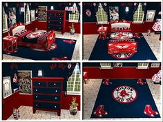 Boston Red Sox Roller Shades Love These For Karsens Bedroom See More Take A Look At Our Darling Kids Rooms An Additional 10 With