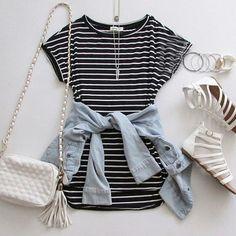 Outfit perfecto para salir con amigas