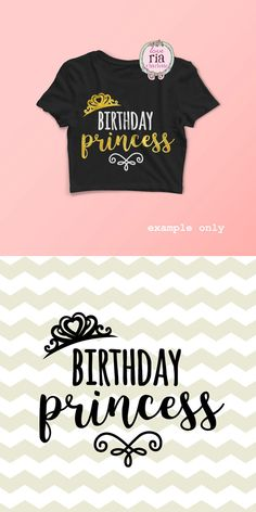 Birthday princess tiara baby girls digital by LoveRiaCharlotte Silhouette Cameo Projects, Silhouette Design, Kids Silhouette, Princess Tiara, Cricut Vinyl, Vinyl Decals, Vinyl Shirts, Cricut Creations, Princess Birthday