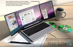 Apple triBook needs to be the future of MacBooks.............more details Penta Group