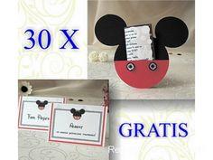 30 invitatii botez Mickey Mouse si carduri asezare cadou. | Reduceri Oferte si Promotii in Romania | Organizari Evenimente