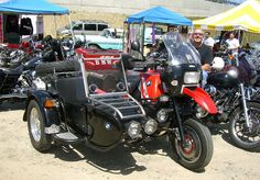 BMW GS with sidecar by Phoebe Goes Vroom, via Flickr
