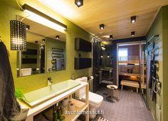 39 Viherperhe - Pesuhuone / WC / sauna   Asuntomessut