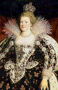 Marie de Médicis (1775-1642), épousa Henri IV en 1600