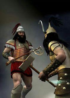 Late mycenian warrior by Kosta Nikelis