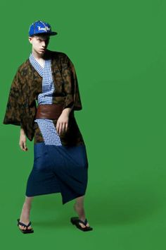 # 4: 'Japanese retailer Isetan Shinjuku collaborated with prominent Japanese designers to release a line of reinvented men's kimonos for the...