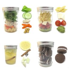 Mason Jar Meals, aka Picnic Food http://blog.craftzine.com/archive/2011/06/_these_mason_jar_meals.html