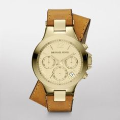 Michael Kors Double Wrap Watch-$149
