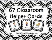 Classroom Helper  Job Cards product from Time-4-Kindergarten on TeachersNotebook.com