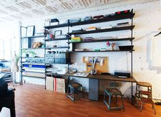 Shelves made from plumping pipes. Industrial vintage looking that would make my mother question my sanity #shelves #home