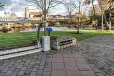Liffey Linear Park: Newbridge - County Kildare (Ireland) Linear Park, My Town, The Locals, North America, United Kingdom, Ireland, Public, City, Places