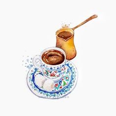 chocolate covered coffee beans Turkish coffee illustration , trkische kaffeeillustration , illustration de caf turc , ilustracin de caf t Coffee Logo, Coffee Art, My Coffee, Coffee Shop, Coffee Corner, Coffee Beans, Turkish Coffee Reading, Turkish Coffee Cups, Coffee Cup Drawing