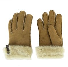 UGG® Australia Authorised Retailer Tenney Tan Suede Women's Gloves