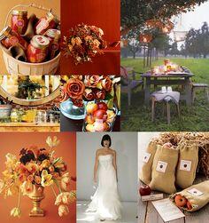 Thema Hochzeit Idee: Herbst Hochzeit Thema Chancen