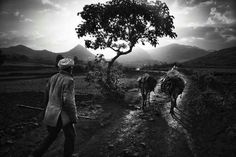 German photojournalist Mario Gerth captured this incredible, dramatic landscape and people's way of life in northern Ethiopia ... a stunning black and white images.