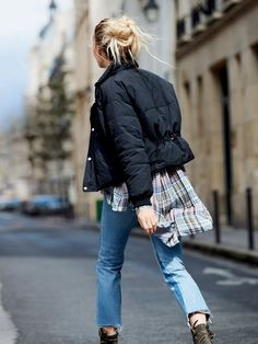 Black Cold Rush Puffer Coat at Free People Clothing Boutique