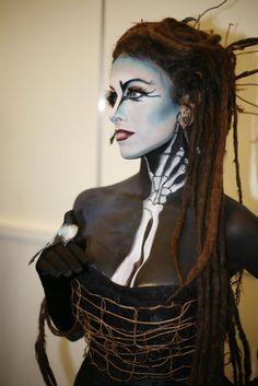 imat, body paintings, paint face, makeup, bones, art, face paint, paints, beauty