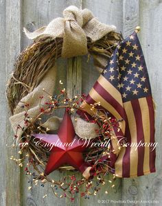 Freedom Trail Tribute Wreath  ~A New England Wreath Company Original Design~