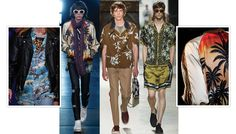 Mode homme tropique