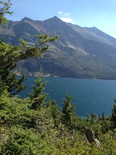 St. Mary's Lake, Glacier National Park. Beauty at every turn.