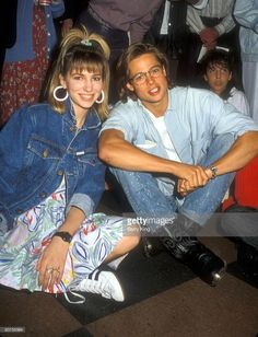 Debbie Gibson & Brad Pitt #BradPitt