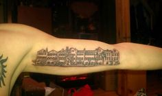 This charleston tattoo celebrates the city 39 s love for its for Tattoo charleston sc