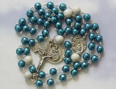 American Air Force Rosary, St Christopher by TripleTwisting on Etsy