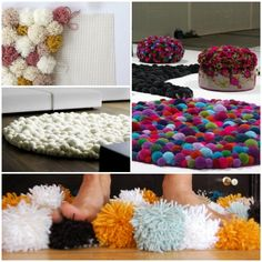 diy wohnideen teppiche selbst gestalten kreative wohnideen