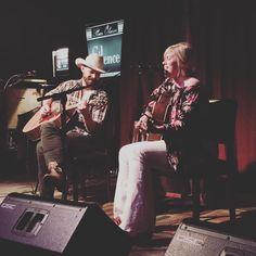 @court_patton and @jdgrider singing at @strangebrewatx tonight. #livemusic #texasmusic #songwriters